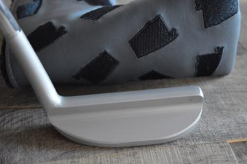 "T.P.Mills Co. Golf Putter - ""My Magic Wand"" 8802 Tour Blade design - hand forged by David - Satin finish"